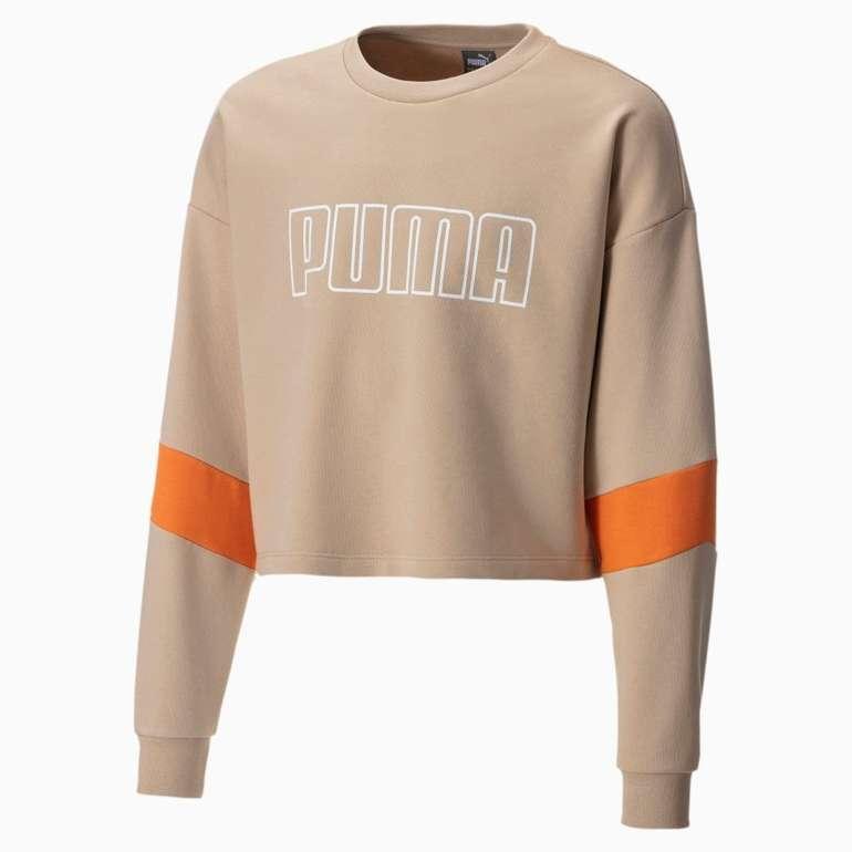 Puma Mädchen Rundhals Sweatshirt für 20,96€ inkl. Versand (statt 31€)
