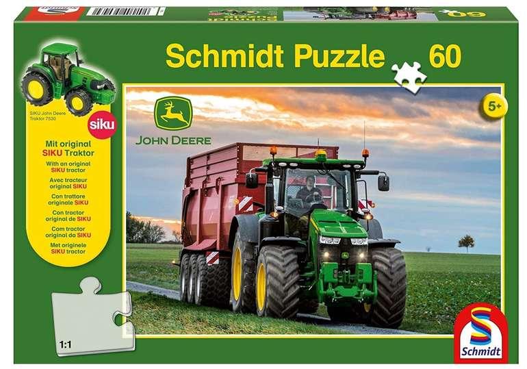 Schmidt-Spiele John Deere: 8370R Traktor für 5,84€ inkl. Prime Versand (statt 11€)
