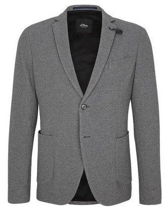 S.Oliver Black Label Jersey-Sakko für 52,49€ inkl. Versand (statt 101€)