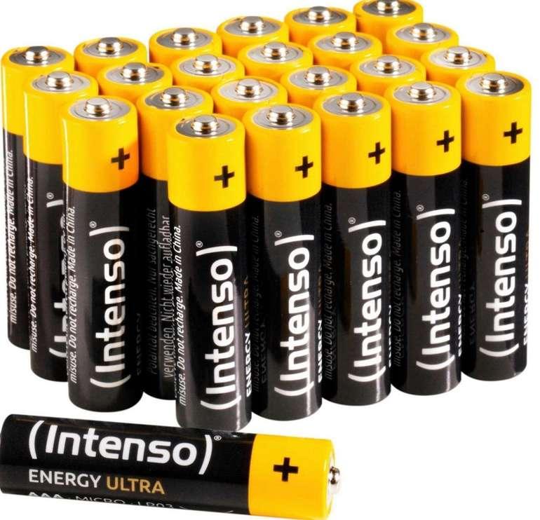 Intenso Energy Ultra AA LR6 + AAA LR03 Batterien (48 Stück) für 10,72€ inkl. Versand (statt 20€)