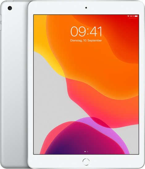 Hot! Apple iPad 10.2 (2019) 32GB WiFi + LTE in Silber für 332,99€ (statt 470€)