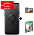 Galaxy S9 + Xbox One + Games + Vodafone real (8GB, Allnet, SMS-Flat) 29,99€ mtl.