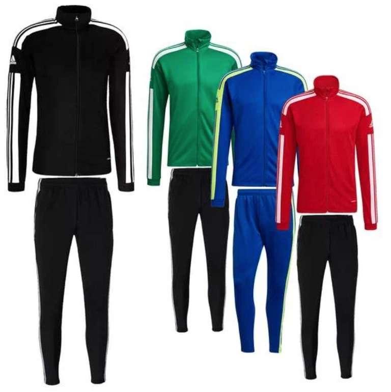Adidas Trainingsanzug Squadra 21  (versch. Farben) für je 39,95€inkl. Versand (statt 60€)