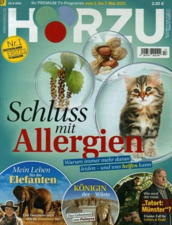 1 Jahr Hörzu mit digital Extra TV-Zeitschrift für 135,40€ + z.B. 115€ Bestchoice Gutschein