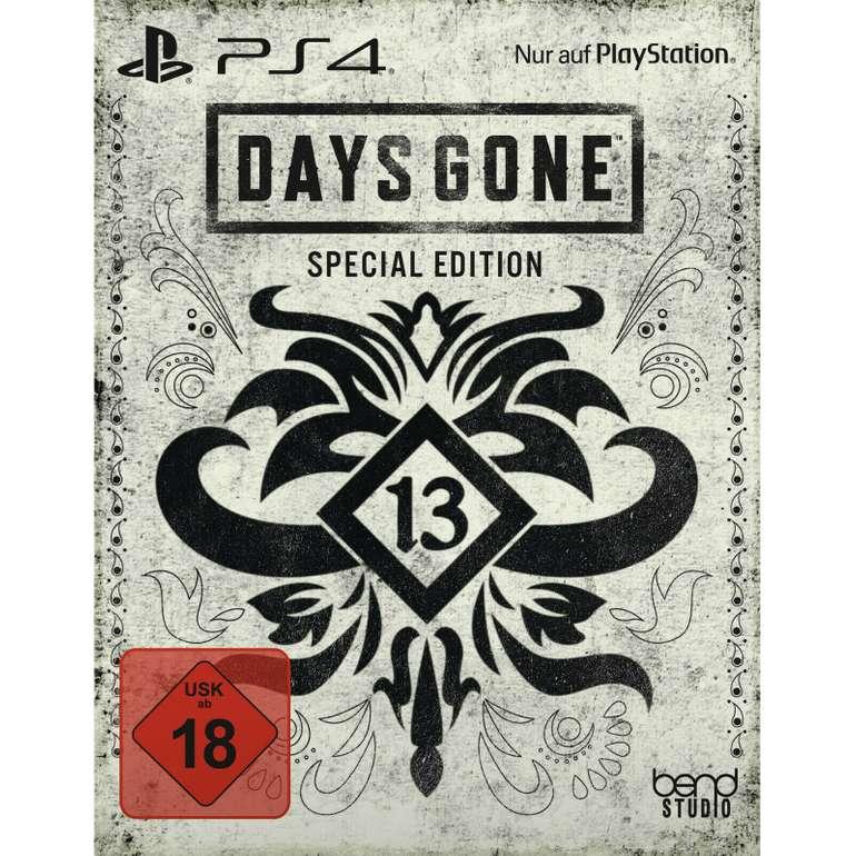 Days Gone PS4 - Special Edition für 39€ inkl. Versand (statt 60€)