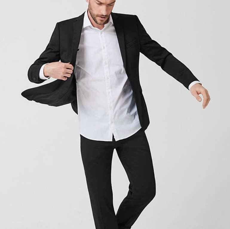 s.Oliver Sale mit bis zu 50% Rabatt (MBW: 24€) - z.B. Waschbares Anzugsakko + Anzughose für 109,98€