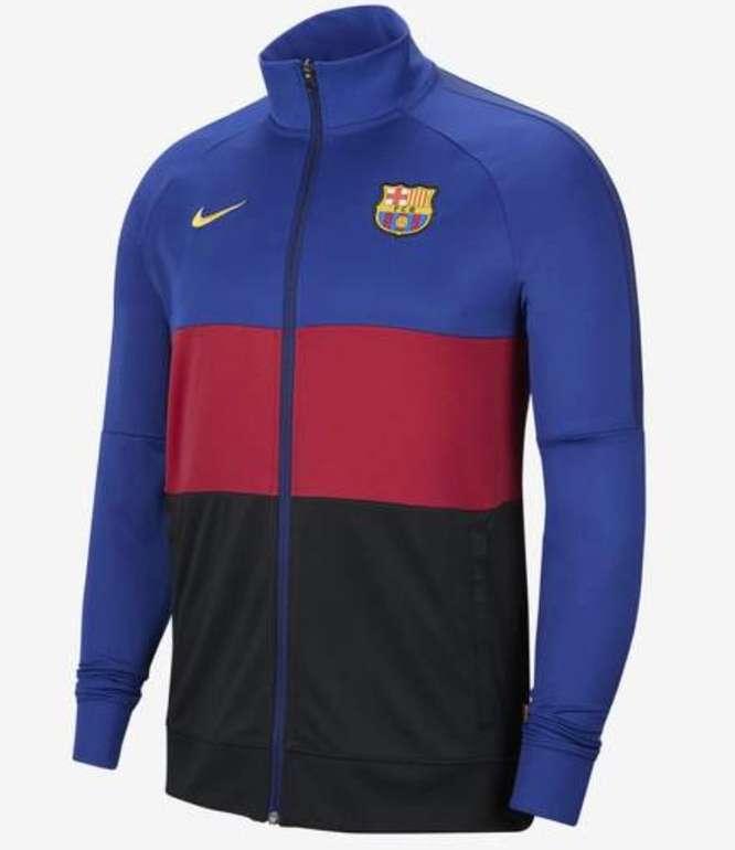 Nike Fußball-Track-Jacket FC Barcelona für 39,92€ inkl. Versand (statt 59€) - Nike Membership!