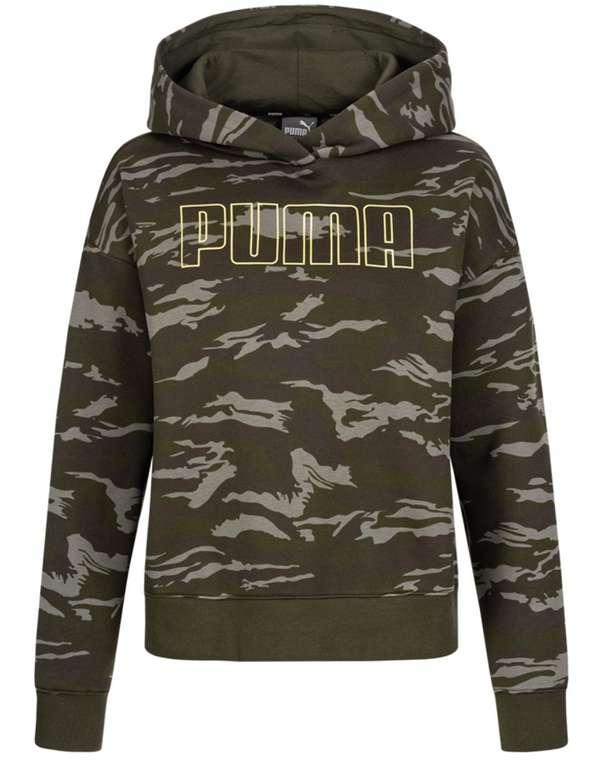 Puma Camo Cropped Damen Hoodie für 23,94€ inkl. Versand (statt 32€)