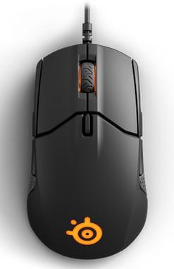 SteelSeries Sensei 310 Gaming Maus in schwarz für 34,90€ (statt 51€)