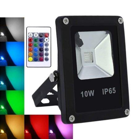 Wolketon LED Außenstrahler mit Farbwechsel ab 9,09€ inkl. Versand