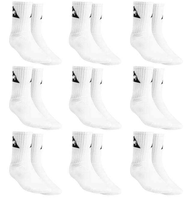 9er Pack Le Coq Sportif Crew Socks Sport Socken für 13,84€ inkl. Versand