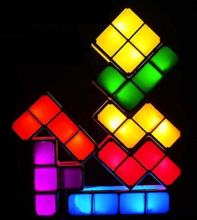 Tetris LED Baustein Lampe für 20,53€ inkl. Versand (statt 26€)