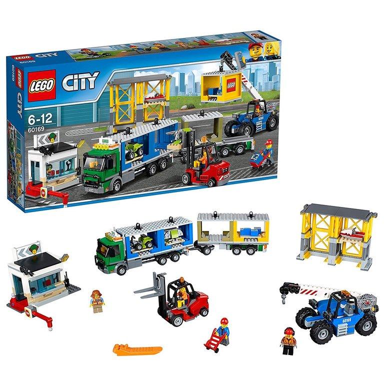 Lego City 60169 - Frachtterminal für 41,99€ inkl. Versand (statt 52€)