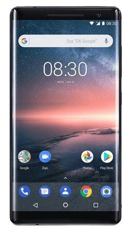 Nokia 8 Sirocco 128 GB Schwarz für 299€ inkl. Versand (statt 349€)