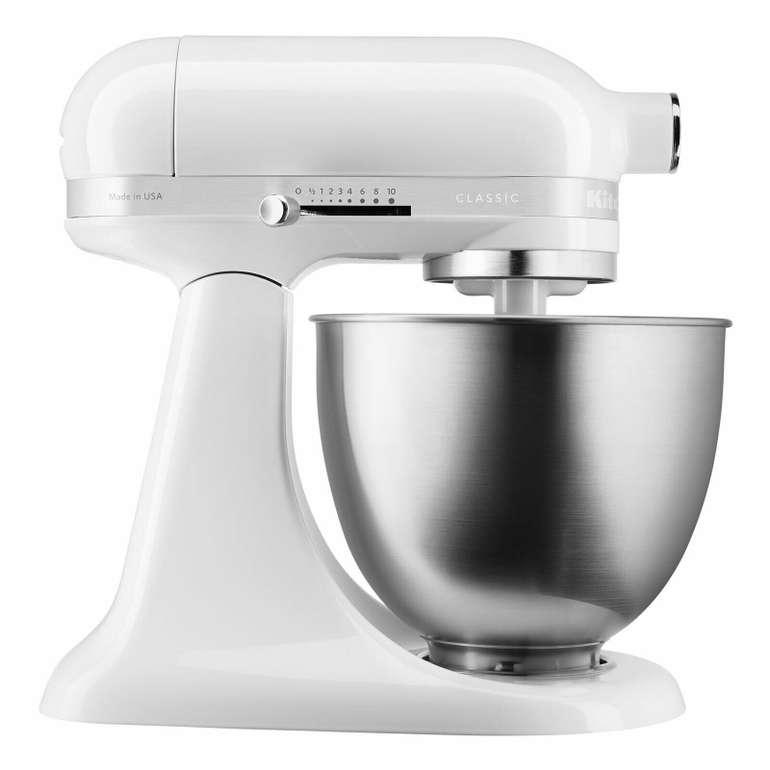 """KitchenAid """"5KSM3310XEWH"""" Classic Mini Küchenmaschine (3,3L) für 179,10€ inkl. Versand - Generalüberholt!"""