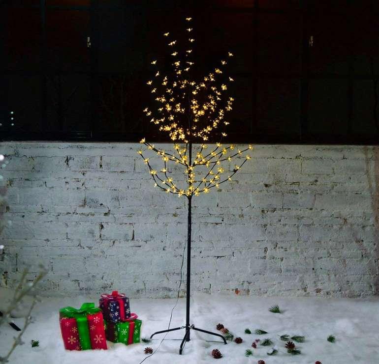 Vingo Kirschblütenbaum mit LED-Lichtern (Innen- und Außenbeleuchtung) für 17,49€ inkl. Versand (statt 22€)