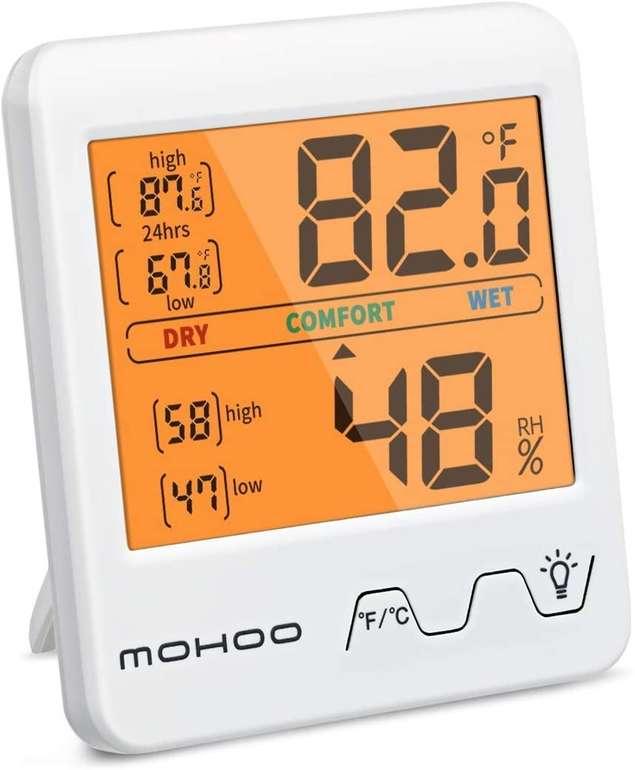 Mohoo Thermo- bzw. Hygrometer für 5,99€ inkl. Prime Versand (statt 11€)