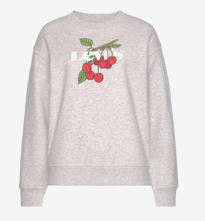 Levi's Sweatshirt in graumeliert / grasgrün / kirschrot für 48,99€ inkl. Versand (statt 68€)