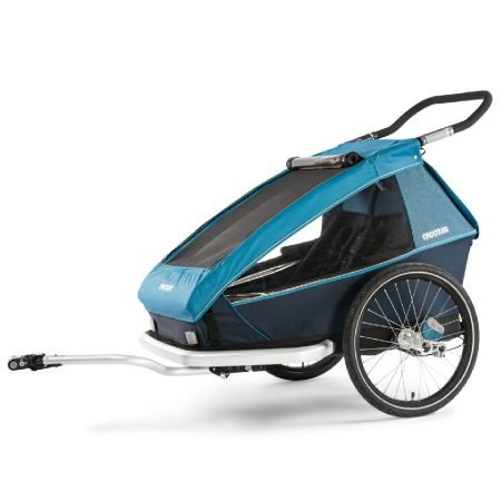 Croozer Fahrradanhänger Kid Plus for 2 (2019) in Ocean Blue für 782,88€ inkl. VS