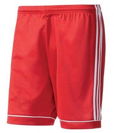 adidas Herren Short Squadra 17 in XL & Rot für 5,98€ ink. VSK (statt 16€)