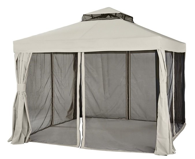 Pavillon Sahara (300 x 280 x 300cm) + Seitenwände und Moskito-Netze für 200,33€ inkl. Versand (statt 350€)