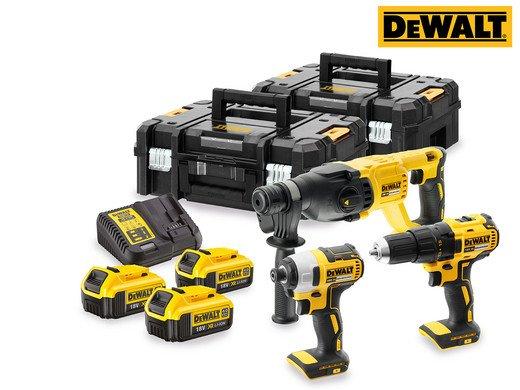 DeWalt 18 V Schraub- und Bohrset (DCK372M3T-QW) für 508,90€ inkl. VSK
