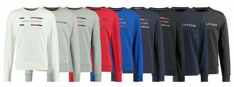 Tommy Hilfiger Herren Sweatshirt mit Logo-Print 3