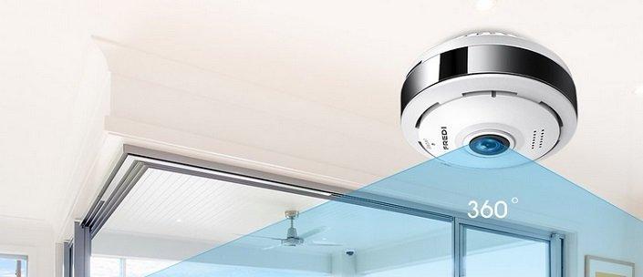 FREDI - IP WLAN Überwachungskamera für 21,99€ inkl. Versand