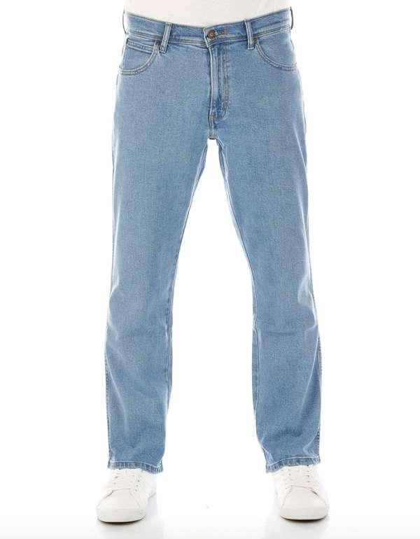 Wrangler Herren Jeans (Regular Fit - Blau - Lightstone) für 39,99€ inkl. Versand (statt 52€)