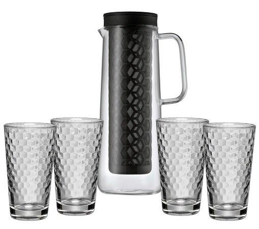 WMF Cold Brew Kanne mit 4 Honeycomb Gläser für 29,95€ inkl. Versand (statt 50€)