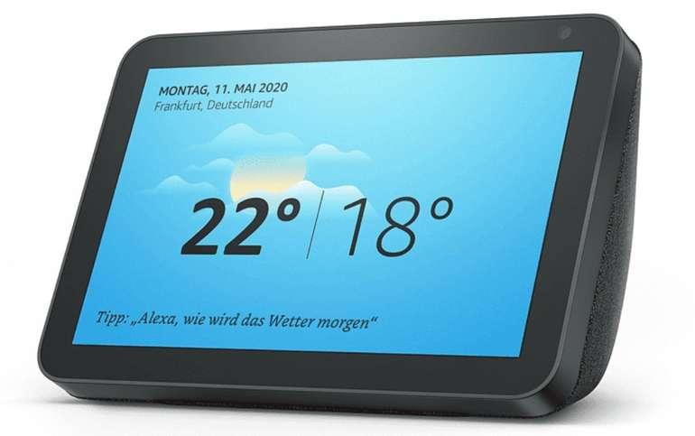 Amazon Prime Day: Amazon Echo Show 8 - Smart Display / Speaker mit 8 Zoll HD-Bildschirm für 64,99€ (statt 83€)