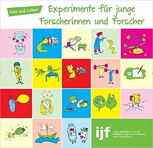 """Experimentierbuch """"klein und schlau!"""" für Kinder kostenlos herunterladen"""