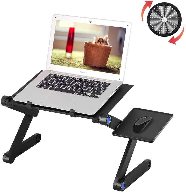 Mbuynow höhenverstellbarer Laptoptisch mit Lüfter für 19,99€ (Prime)