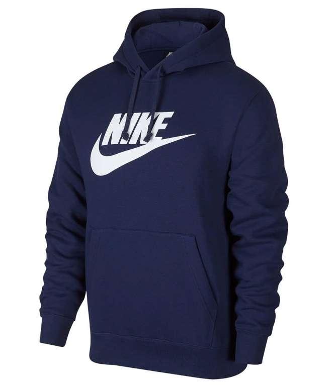 Nike Club Fleece Herren Hoodie in blau für 30,74€ inkl. Versand (statt 41€)