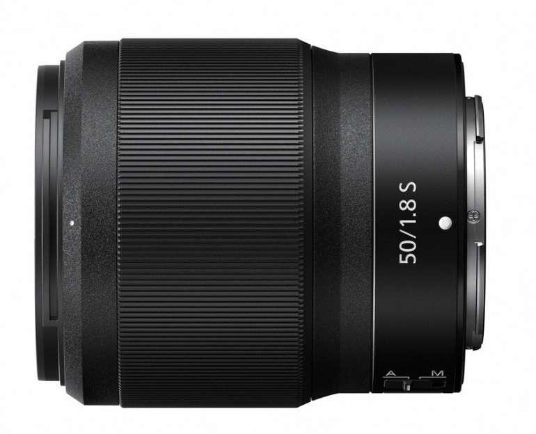 "Nikon ""Nikkor Z"" 50 mm 1:1,8 S Objektiv für 360€ inkl. Versand (statt 444€)"