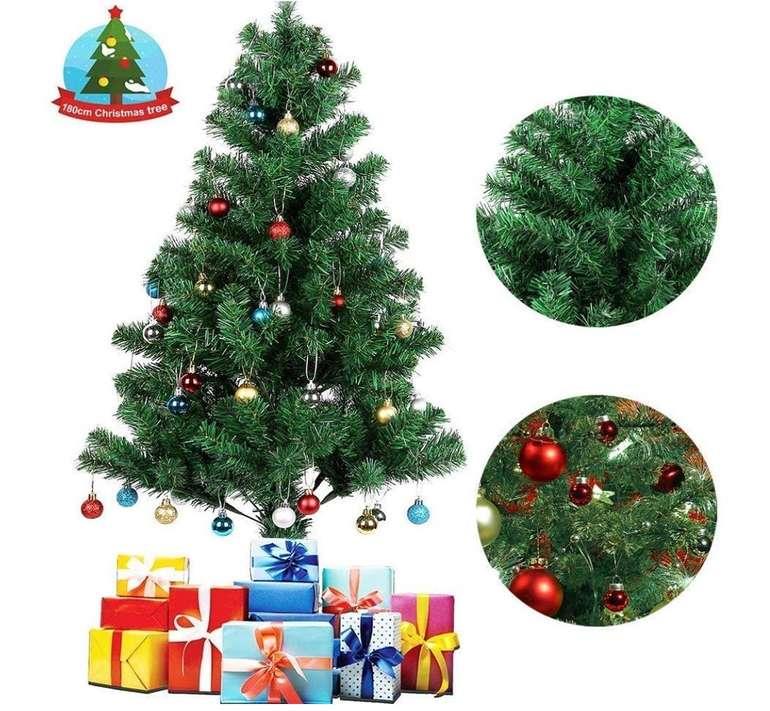 Künstlicher Uten Weihnachtsbaum (150 bis 180cm) inkl. Christbaum-Ständer ab 18,99€ (statt 38€)