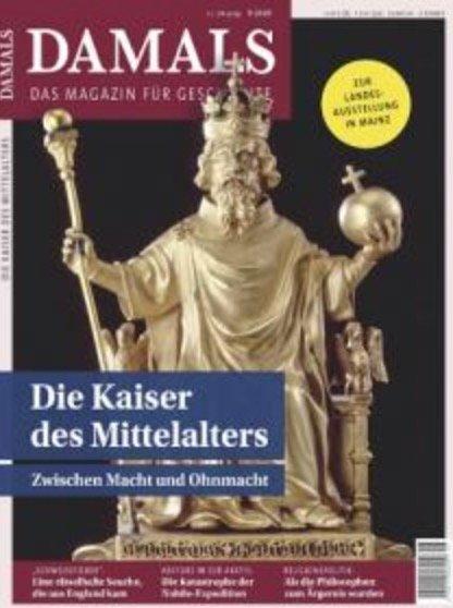"""Zeitschrift """"Damals"""" im Jahresabo für 102,66€ + z.B. 95€ Bestchoice-Gutschein"""