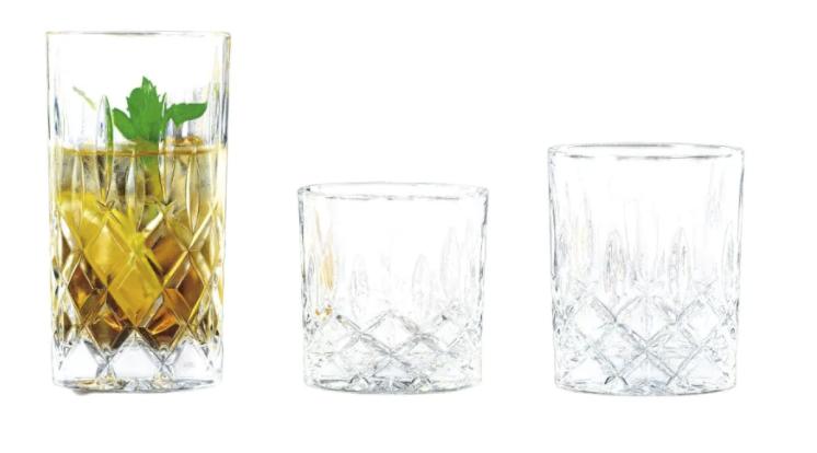"""Nachtmann Becher Set """"Noblesse"""" (18-teilig) aus Glas für 37,86€ inkl. Versand (statt 44€) - Abholung: 31,96€"""