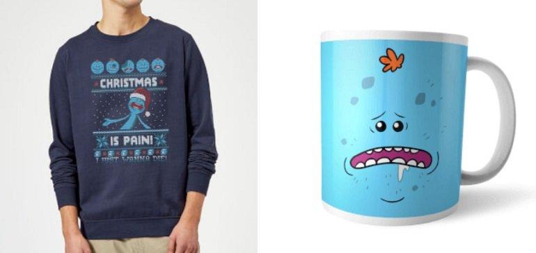 Rick & Morty Mr Meeseeks Weihnachtsbundle