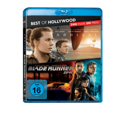 Best of Hollywood Collection: Arrival + Blade Runner 2049 (Blu-ray) für 12,98€