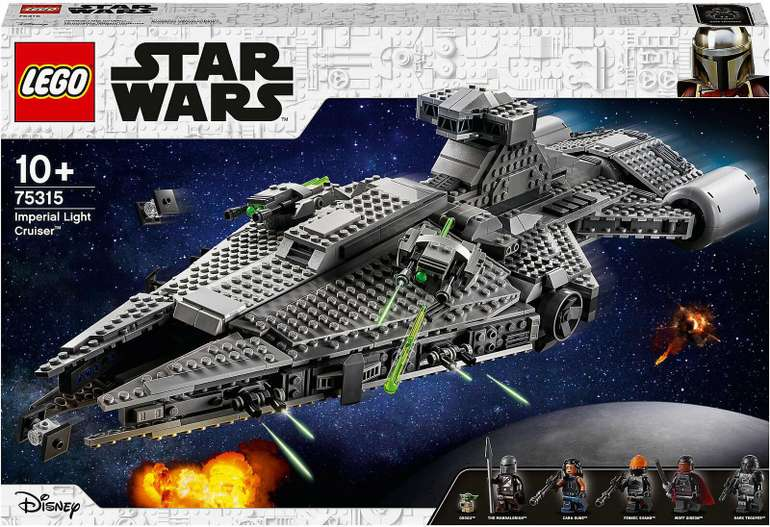Lego Star Wars - Imperial Light Cruiser (75315) für 139,39€ inkl. Versand (statt 160€)