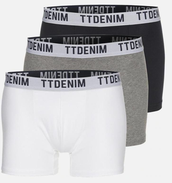 3er Pack Tom Tailor Denim Trunks Boxershorts für 16,11€ inkl. VSK (statt 20€)