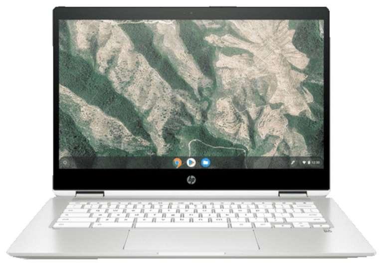 HP Chromebook x360 - 14b-ca0300ng (14 Zoll, 4GB RAM, 64GB eMMC, 2-1 Convertible, Touchdisplay) für 299€