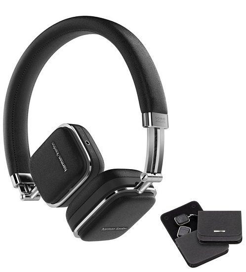 Harman Kardon Soho Wireless On-Ear-Bluetooth Kopfhörer mit NFC für 95,78€