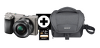 Sony Alpha 6000 Systemkamera + Objektiv SEL-P1650 (16-50mm) 549€ + 50€ Gutschein