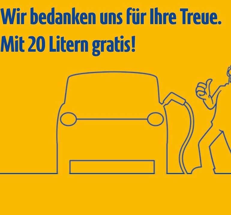JET Tankstellen: 20 Liter Gratis tanken - ab 21.09. zwischen 13 und 14 Uhr (nur an bestimmten Jet Tankstellen!)