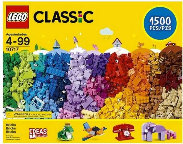 Lego Classic (10717) Extragroße Steinebox für 49,99€ inkl. Versand (statt 60€)