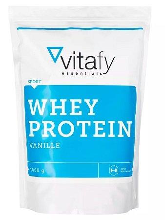 1kg vitafy Whey Protein (Vanille oder Schokolade) für 5,98€ + VSK - MHD Ware!