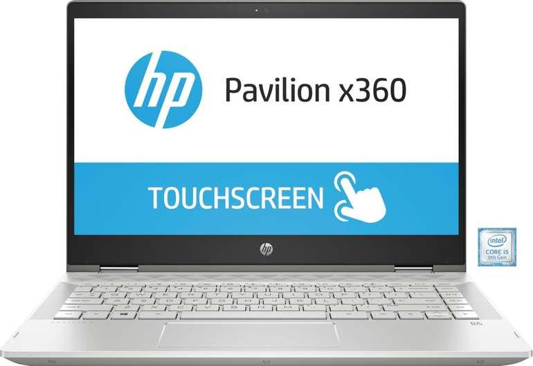 "HP Pavilion x360 14-cd1006ng - 14"" Touch-Notebook mit 512GB SSD für 609€ inkl. VSK (statt 899€)"
