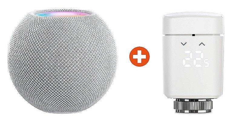Apple HomePod Mini + Elgato Thermo für Apple HomeKit für 127,90€ inkl. Versand (statt 157€) - Newsletter!